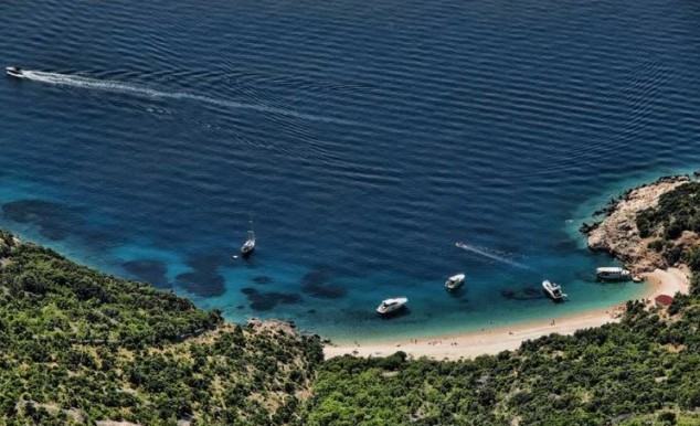Sveti Ivan la playa más famosa de la isla de Cres
