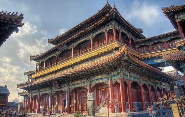 Templo Budista Lama - Palacio de la Paz y la Armonía de Beijing China