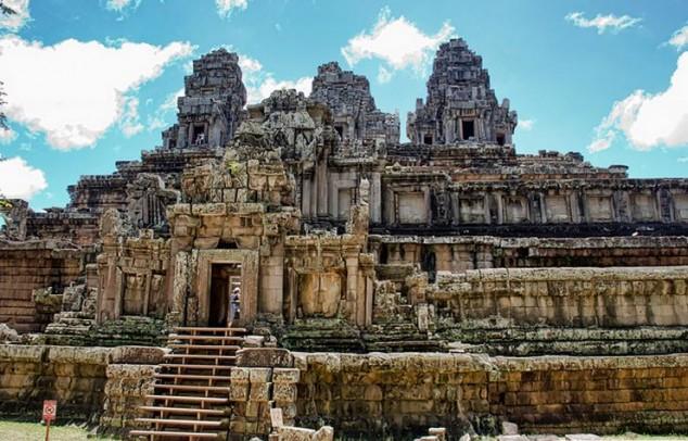 Templo Ta Keo Dedicado al dios hindú Shiva