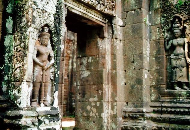Templo Wat Phu en Laos