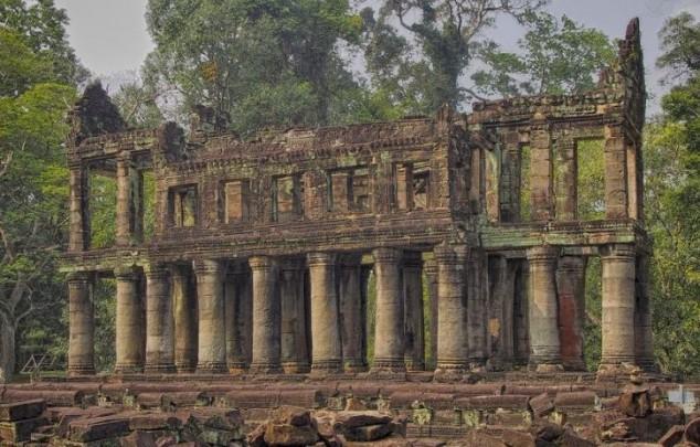 Templo de  Preah Khan en Camboya