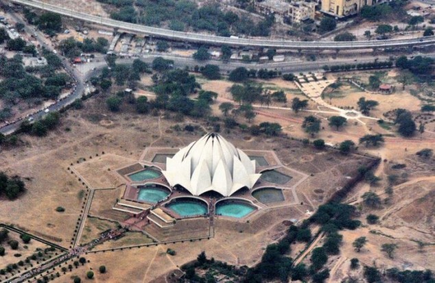 Templo del Loto en Delhi India