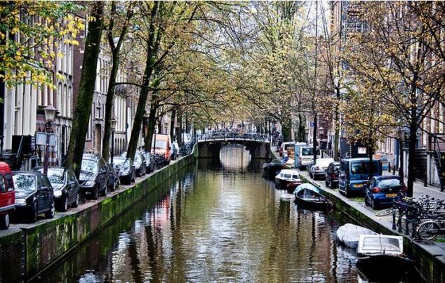 Ver los Canales de Amsterdam