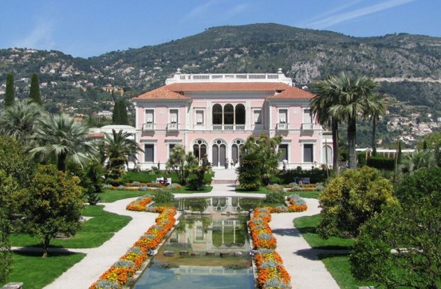 Villa Ephrussi de Rothschild en la Riviera francesa