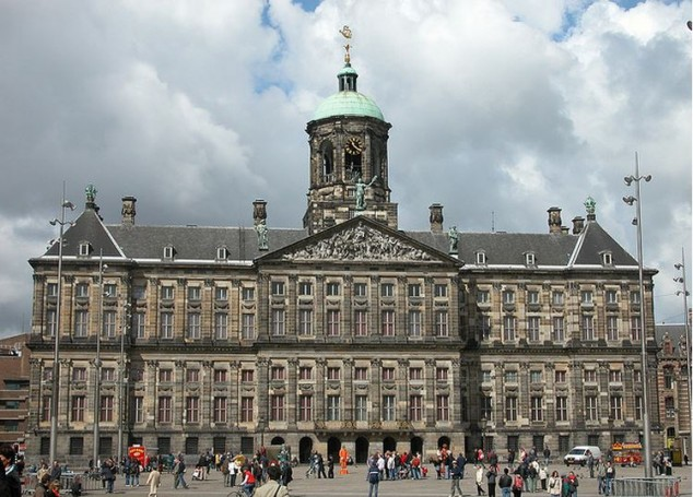 Visitar Amsterdam palacio real