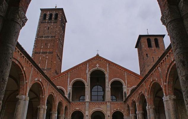 Visitar en Milan Basílica de San Ambrosio