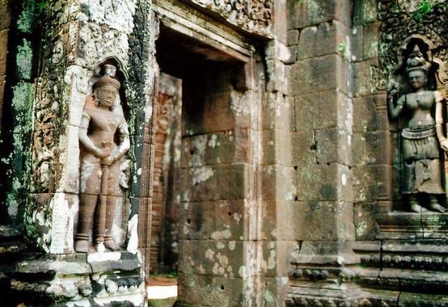 Wat Phu en la provincia de Champasak