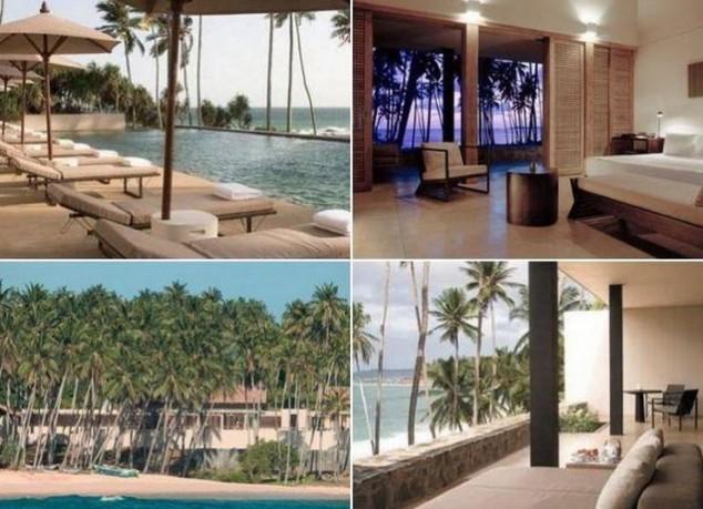 complejo Amanwella está situado en la costa sur de Sri Lanka