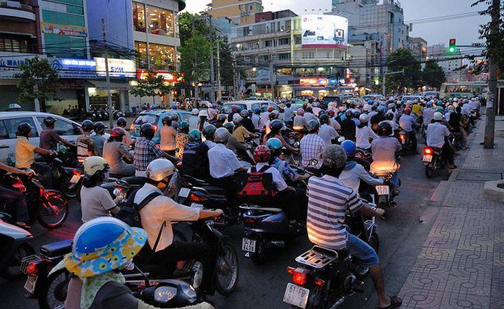 en el sur de Vietnam, Ho Chi Minh City