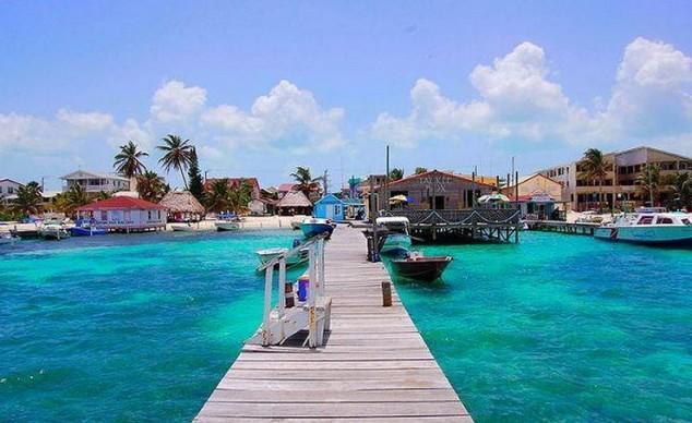 escapadas romanticas caribe belice