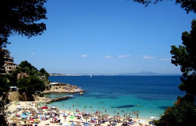 isla paradisíaca, Las Playas de Mallorca
