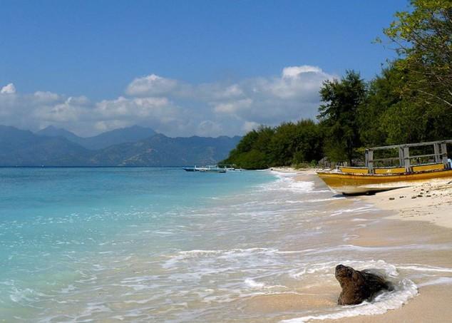 islas Gili son un archipiélago de tres pequeñas islas