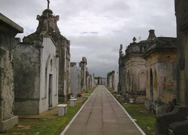 lugares embrujados Cementerio de San Luis