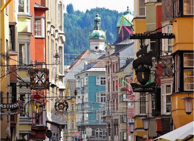 lugares visitar en Austria