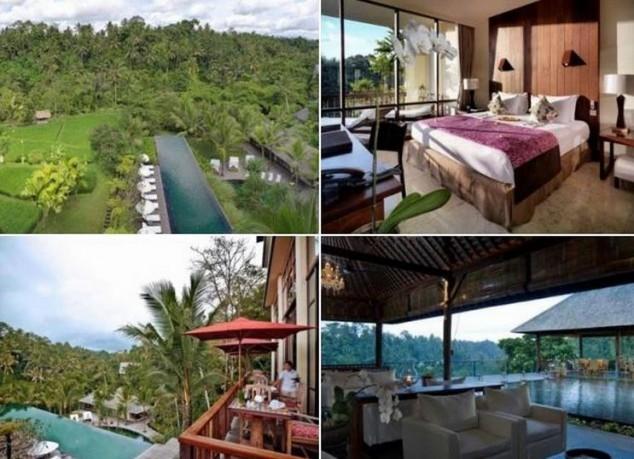 mejores HOTELES de lujo en Bali Komaneka at Bisma