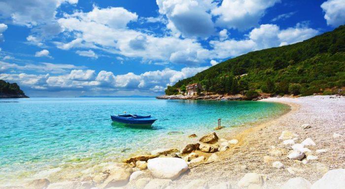 mejores playas de croacia ajska