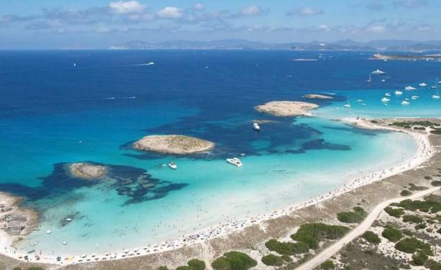 mejores playas españa Playa de Ses Illetes (Formentera