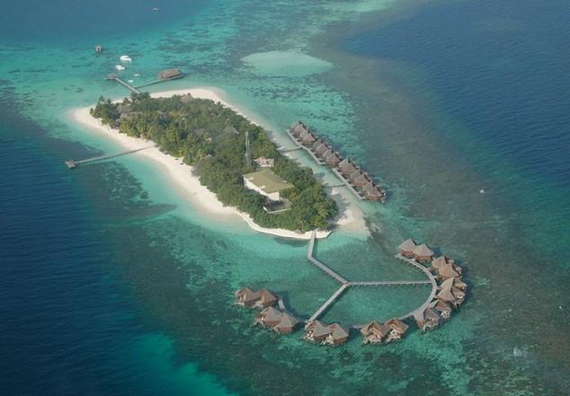 mejores resorts de lujo en las Maldivas