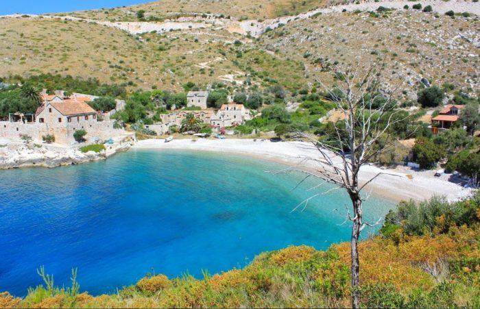 playas de croacia dubovica