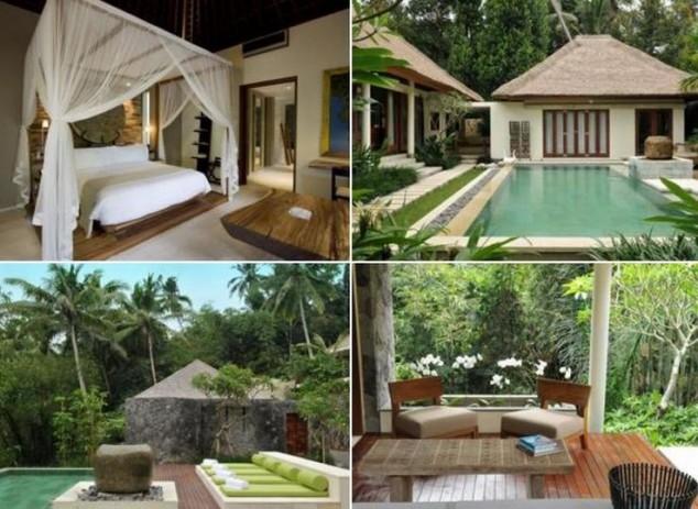 purista Villas and Spa en Ubud es un complejo pequeño hotel boutique