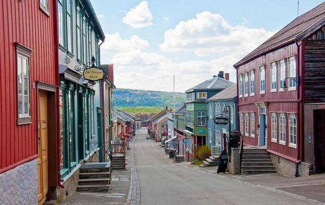 roros principales atracciones turísticas de Noruega