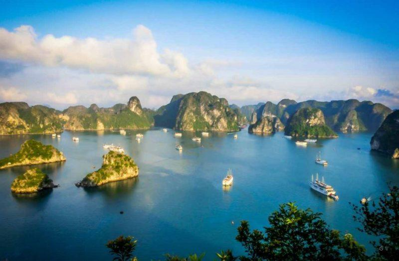 visitar ha long bay vietnam