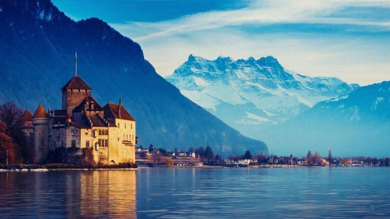 visitar lago geneva en suiza