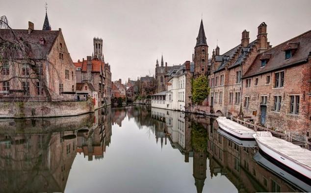 Brujas es una ciudad medieval