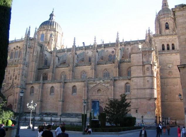 Catedral nueva y catedral vieja salamanca