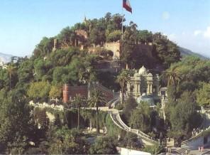 Cerró Santa Lucia en chile