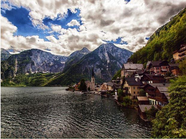 Hallstatt un pueblo de Austria