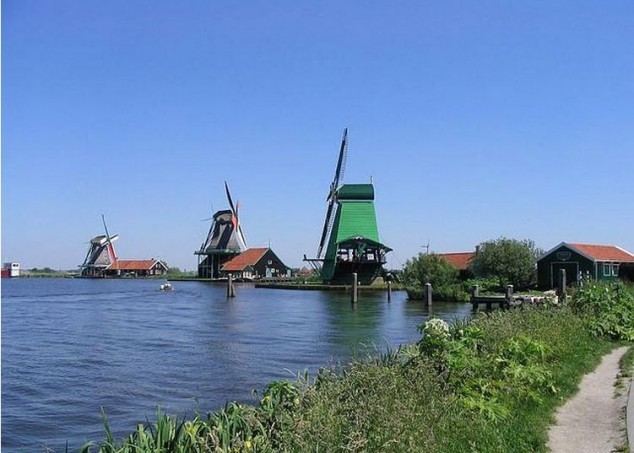 Holanda con una excursión a Zaanse Schans