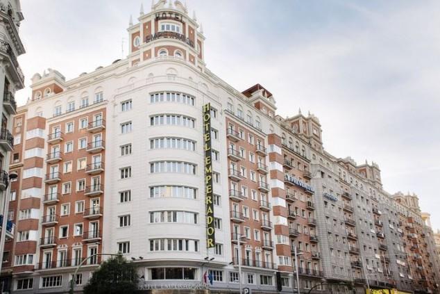 Hotel Emperador en la Gran Vía de Madrid