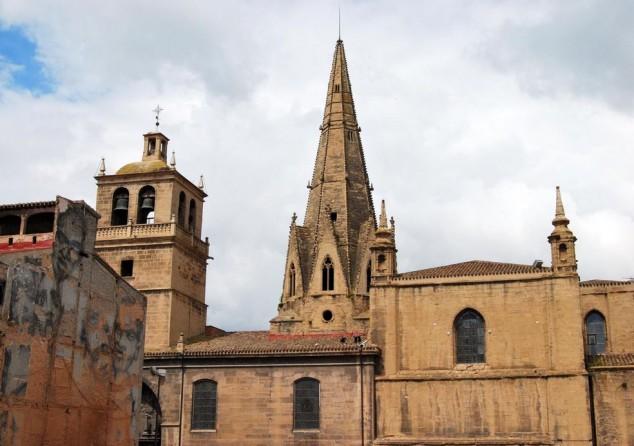 Iglesia Imperial de Santa María de Palacio en logroño