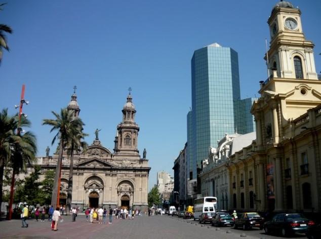Plaza de Armas - la Moneda