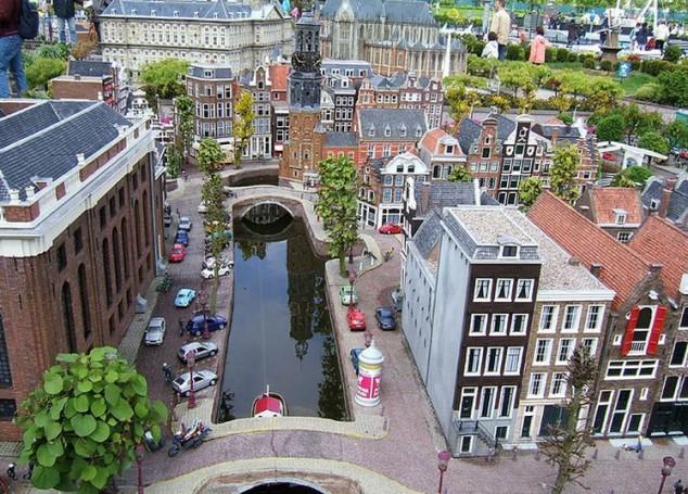 Situado en Scheveningen, La Haya, Madurodam