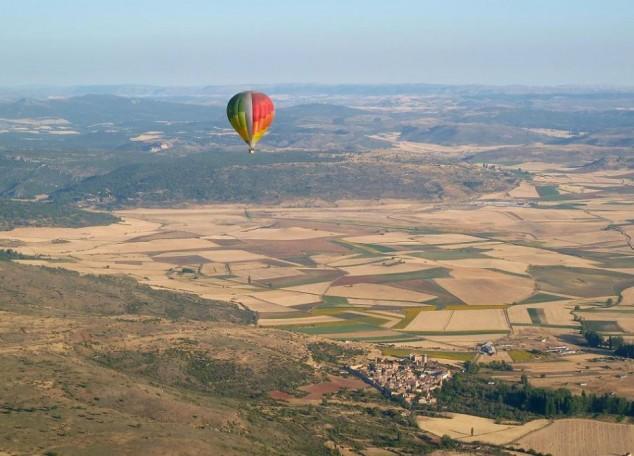 Vueltas en globo aerostático durante su viaje por Andorra