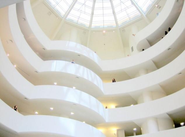 interor Museo Guggenheim Nueva York