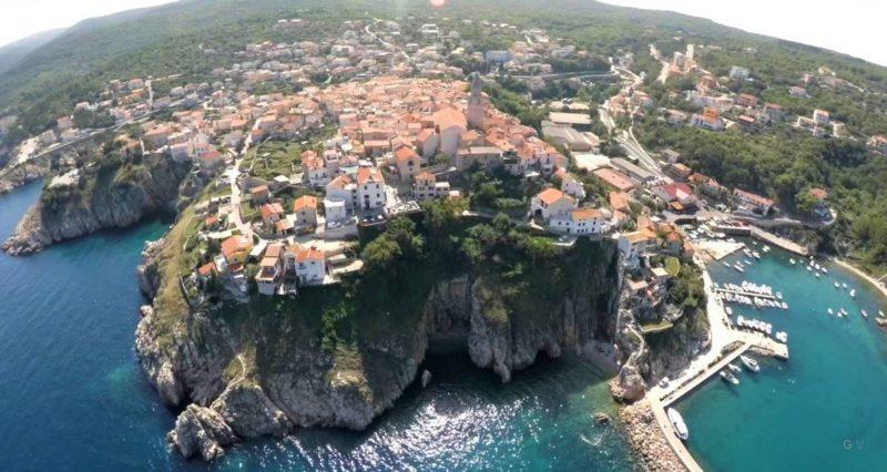 visitar isla krk croacia