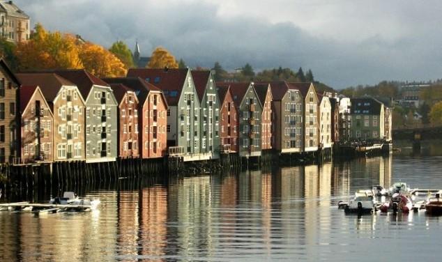 Conociendo Trondheim Planeáis un viaje a Noruega