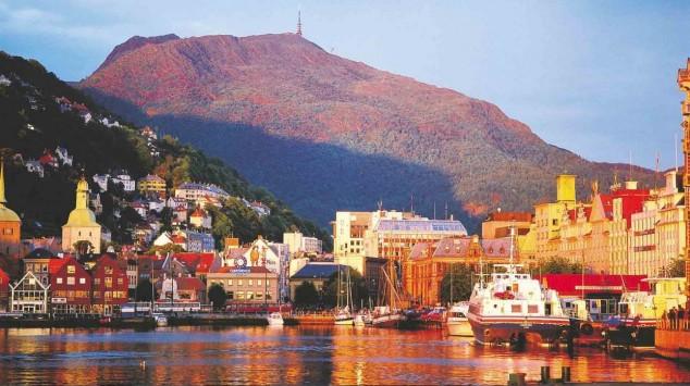 ciudad de Bergen Noruega