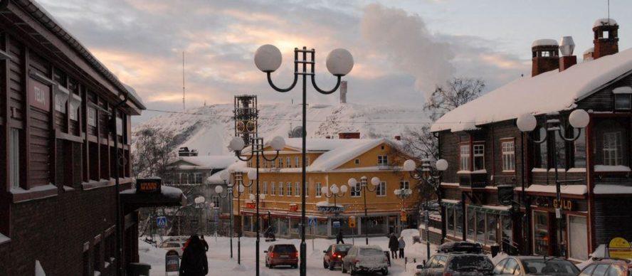 ciudad del hierro, Kiruna Suecia