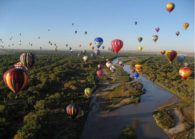entusiastas de viajes en globo del mundo