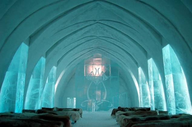hotel de hielo de Kiruna Suecia 1