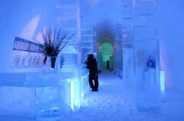 hotel de hielo de Kiruna Suecia