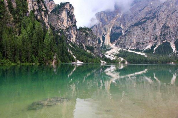 lago Braies, Italia