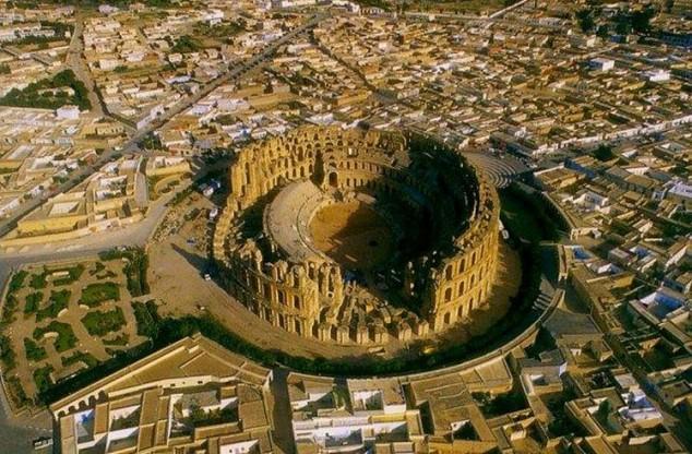 Anfiteatro Romano de El Djem
