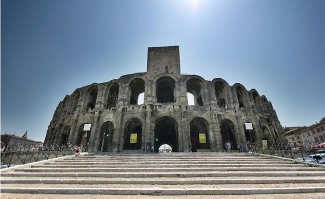 Arena romana en Arles