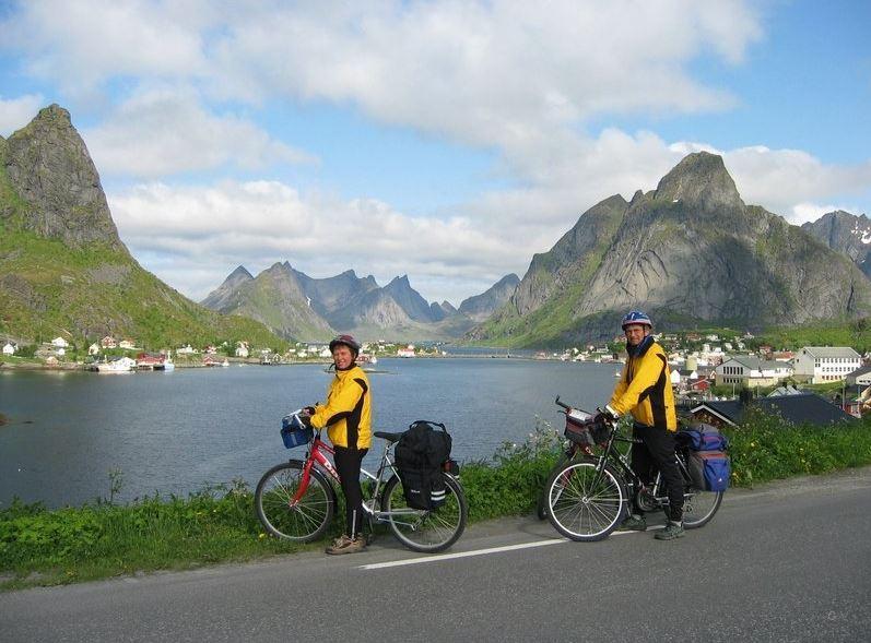 Islas Lofoten noruega Cicloturismo