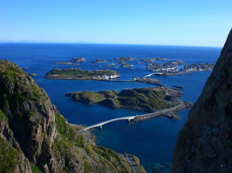 Islas Lofoten y Vesteralen al norte de Noruega